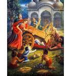 Krishna as Baby Kills the Cart Demon
