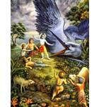 Krishna Kills the Bird Demon