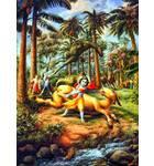 Krishna Kills the Ass Demon