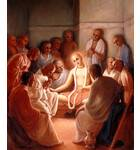 Lord Caitanya Mahaprabhu Speaking on Philosophy