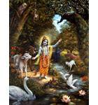 Krishna with the Animals of Vrindavan