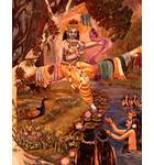 Krishna Returning the Clothes of the Gopis