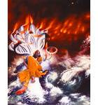 Lord Vishnu Sleeping on the Bed of Sesa Naga