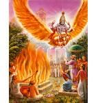 Lord Vishnu Appears Personally at Fire Sacrifice