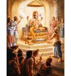 Lord Brahma, the Demigods Approach Him