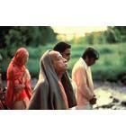 Srila Prabhupada and Disciples on a Morning Walk