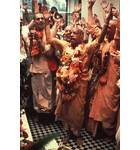 Prabhupada at the Installation of Sri Sri Radha Gokulananda at Bhaktivedanta Manor