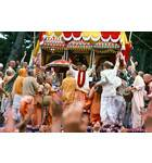 Srila Prabhupada Dances on Stage at London Ratha Yatra
