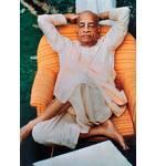 Srila Prabhupada Sitting in Sun