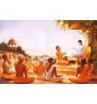 Sukadeva Gosvami Instructs Maharaja Pariksit Print