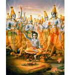 Krishna Expands Himself as Cowherd Boys
