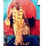Srila Prabhupada in Bombay, Vyasasana