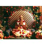 Srila Prabhupada in Paris, Folded Hands on Vyasasana