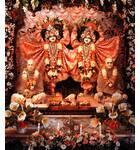 Sri Jagannatha, Baladeva and Lady Subhadra - Devasadana Mandir - Detroit, Michigan
