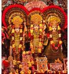 Sri Sri Sita, Rama, Laksmana and Hanuman - Sri Sri Radha Nila Madhava Mandir - Seatt