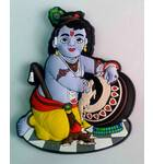 Large Krishna as the Butter Thief Magnet