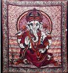 Ganesh Backdrop Cotton Print (220x210 cm)