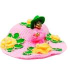 Woolen Winter Dress with Cap for Laddu Gopal