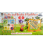 Krishna Conscious Ludo and Snakes & Ladders Board Games for Children