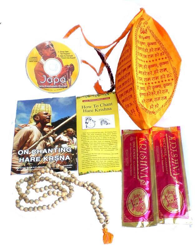 Mantra Meditation Kit (Japa Chanting Beads in Bead Bag)
