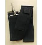 Black Adjustable Strap -- for Fiberglass Mridangas