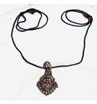Nrsimhadeva Necklace with Black Thread (small size)