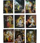 Assorted Krishna Greeting Card (Pack of 10)