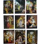 Assorted Krishna Greeting Card (Pack of 10)