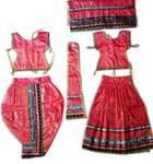 Radha Krishna Dress Silk Printed (R1400)