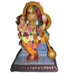 "Prahlada Maharaja and Lord Nrsimhadeva Polyresin Figure (5"" high)"