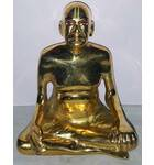 "Srila Prabhupada Brass Deity 5"""