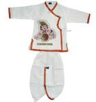 Boys Dhoti and Kurta Set -- Krishna Print on Kurta