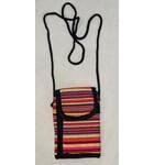 Multicolor Wallet With Nine Pockets