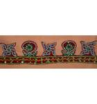 "Traditional Vedic Gate Decoration with Beads (36""x4"")"