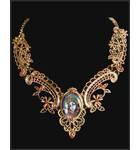 Krishna Necklace -- Gold Color