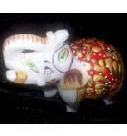 "Marble Elephant (3"" x 4"")"