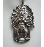 Lord Nrsimhadeva From Mayapur Pendent With Black Thread