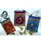 """Zip Bag With Traditional Indian Designs (3.9"""" x 5.9"""")"""