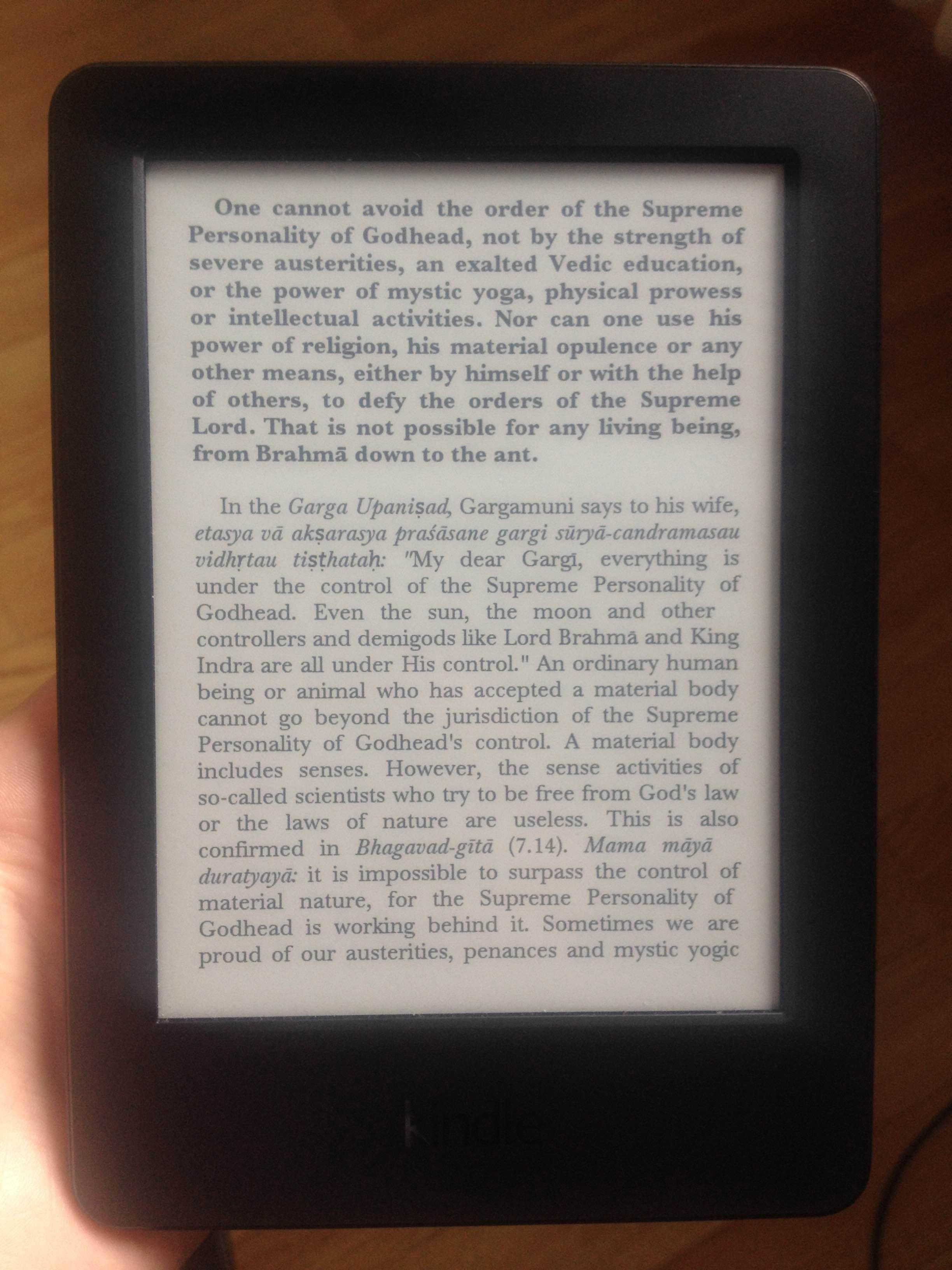 Prabhupada Ebooks For Amazon Kindle